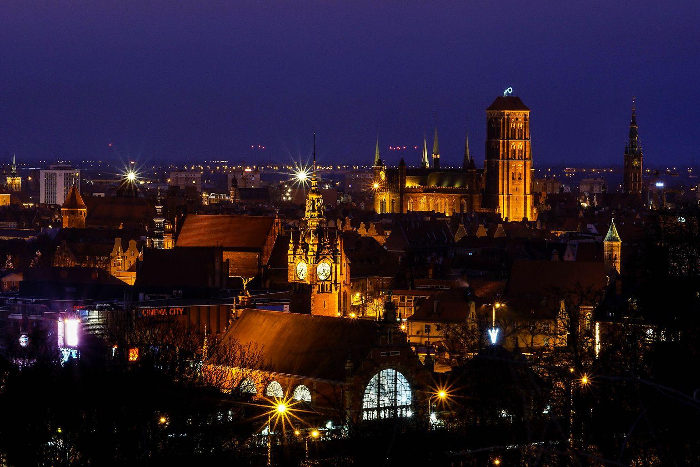 my city before sunrise